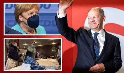 Germany election LIVE: 'Every vote counts!' Germans urged to head to polls - Merkel exit