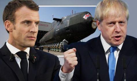 Get over it, Macron! NATO chief backs Boris in row over Australia defence deal