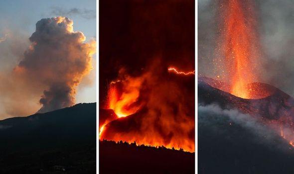 La Palma volcano LIVE: Hundreds evacuated as homes EXPLODE after lava devours buildings