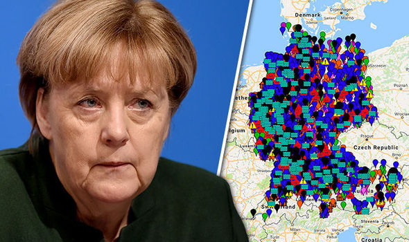 Angela Merkel migrant asylum seeker refugee sex attack Cologne