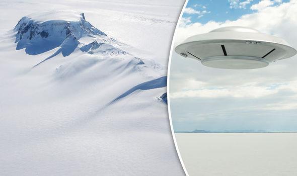 Antarctica/UFO