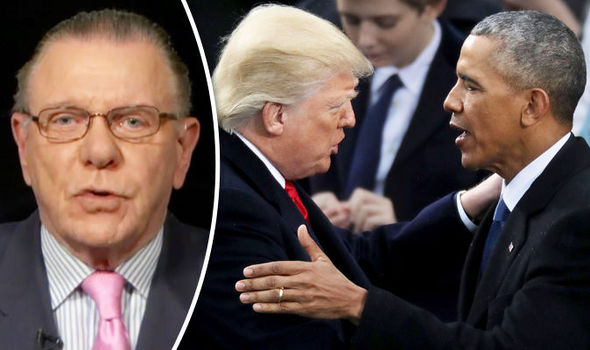 Jack Keane, Trump and Obama