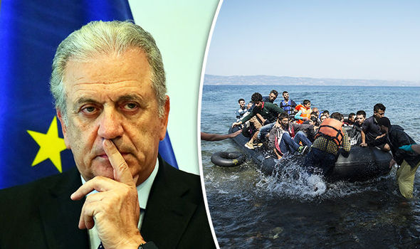 Dimitris Avramopoulos and migrant crisis