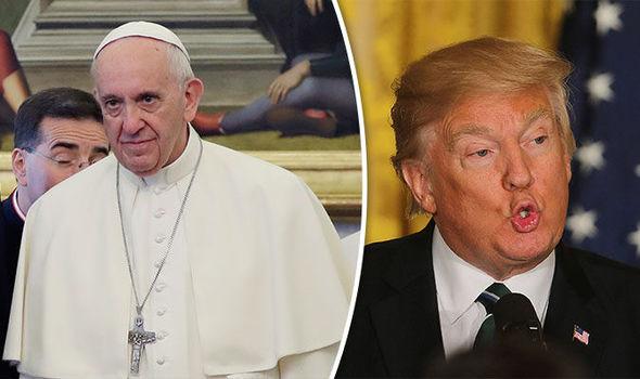 Donald Trump Vaticano tierra plana