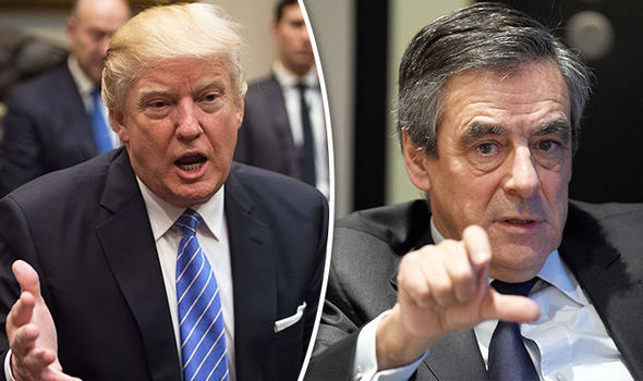 Donald Trump and Francois Fillon