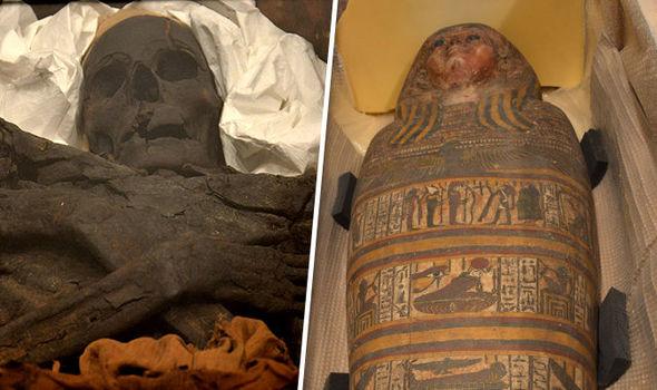 The mummies found in Ukraine