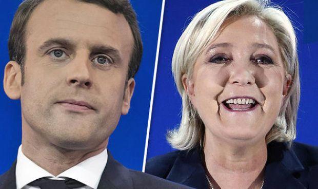 Emmanuel Macron Marine le Pen French election