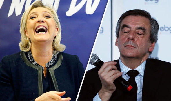 Fillon's candidacy is being called into question by his own party's MPs