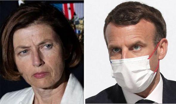 Florence Parly Emmanuel Macron