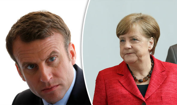 Emmanuel Macron has turned upon Angela Merkel
