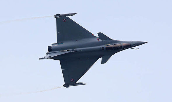 French fighter jet