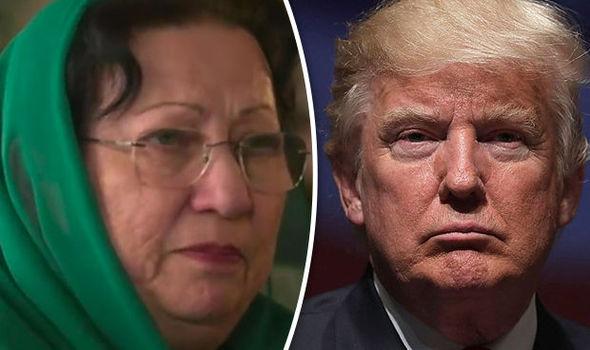 Ghazala Kahn Donald Trump