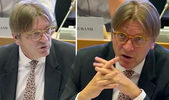 Guy Verhofstadt European Parliament