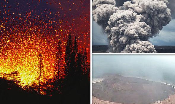 Hawaii volcano eruption 2018 Big Island Kilauea