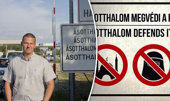 Village mayor and the signs banning Muslims from the village