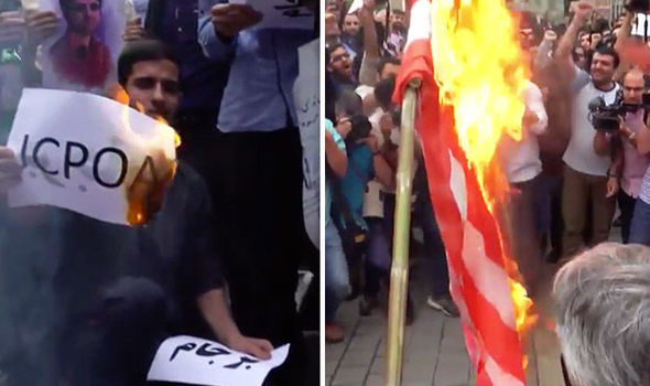 Iran News: Students BURN US Flag As CHAOS Breaks Out