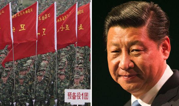 Xi Jinping and china army