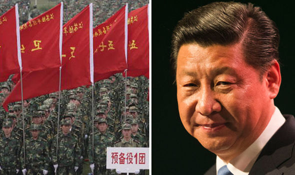 Xi Jinping and china army
