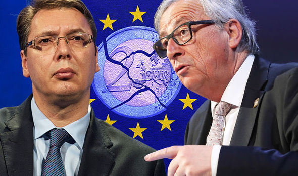 Juncker and Vucic