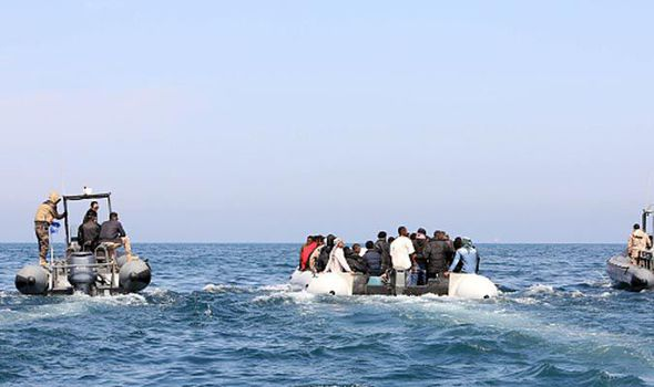 Libya's coastguard detained 700 illegal immigrants