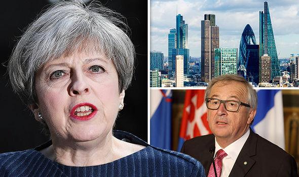 EU chiefs in Brexit row