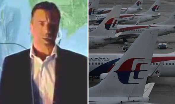 """Andre Milne said it appeared the pilot planned to use Flight MH370 for """"provocative action"""" against the US military base"""
