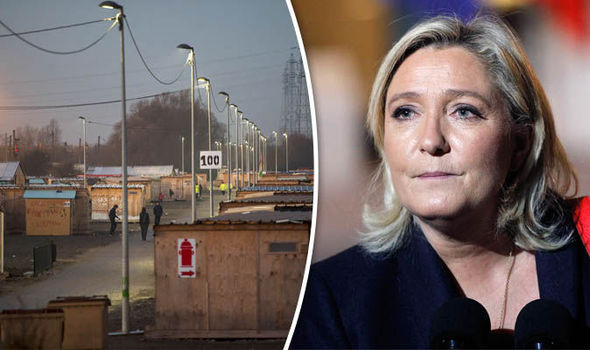 Marine le Pen camp
