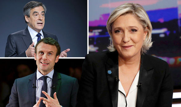Marine Le pen set to lead the first round