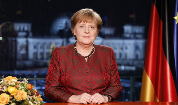 Germany s New Year message  Angela Merkel speaks about rift in     Angela Merkel recorded her annual New Year s Eve message
