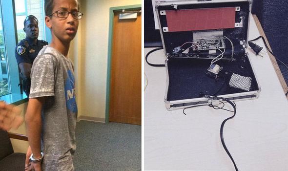 Ahmed Mohamed, clock inventor