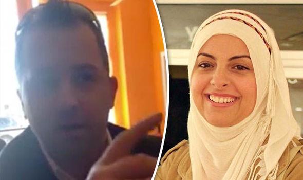 Muslim woman harassed
