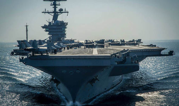 The USS Carl Vinson's deployment is extended