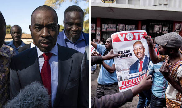 Nelson Chamisa has already declared a victory