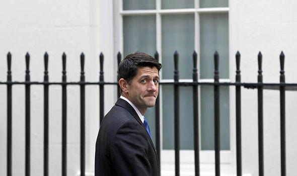 US Speaker Paul Ryan