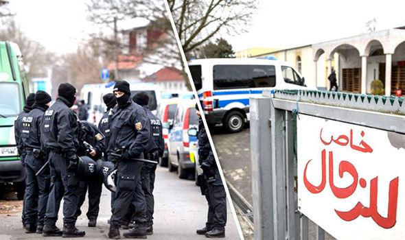 Terror raids in Hesse
