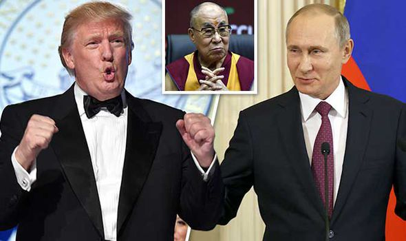 Putin, Trump and the Dalai Lama