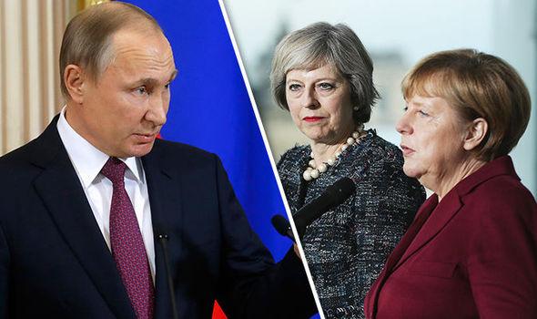 Putin threatens May Merkel EU leaders