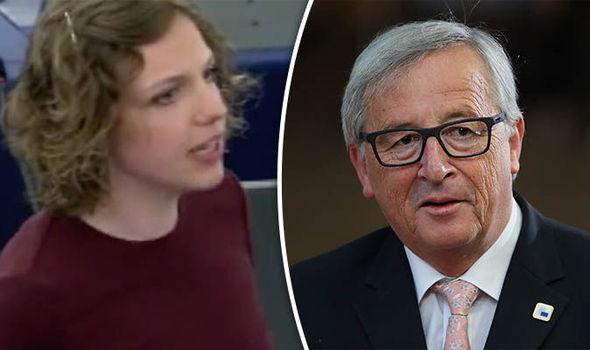 Rina Ronja Kari and Juncker