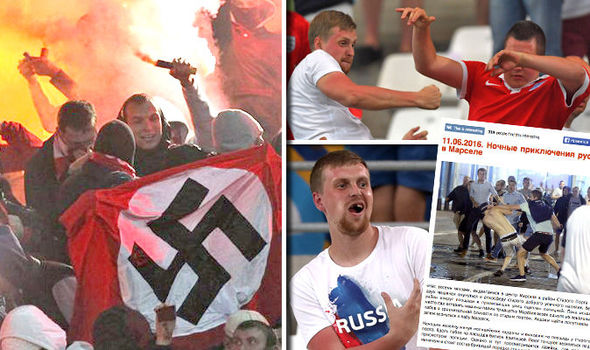 Картинки по запросу russian football fans aggressive
