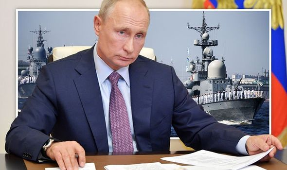 Russia is sending its Naval vessels into UK waters