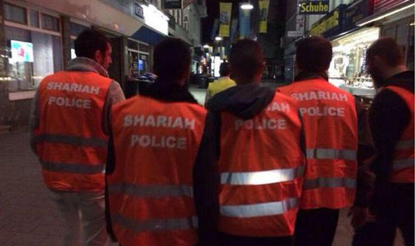 Image result for sharia police germany