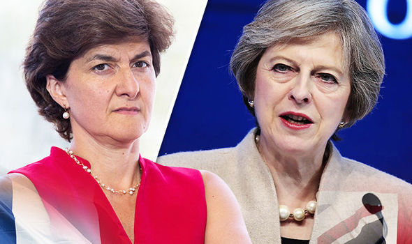 Sylvie Goulard Theresa May