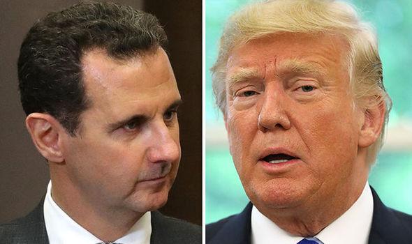Trump and Assad