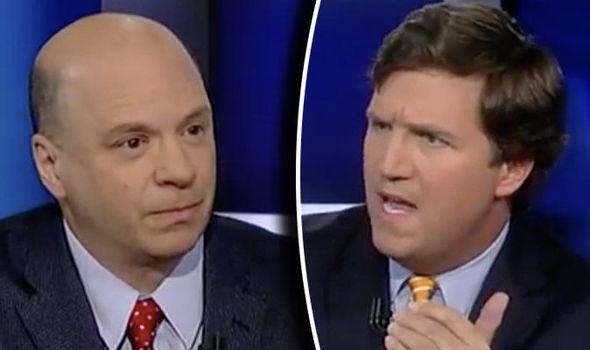 The conservative news anchor Tucker Carlson