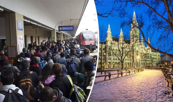 Vienna  migrants