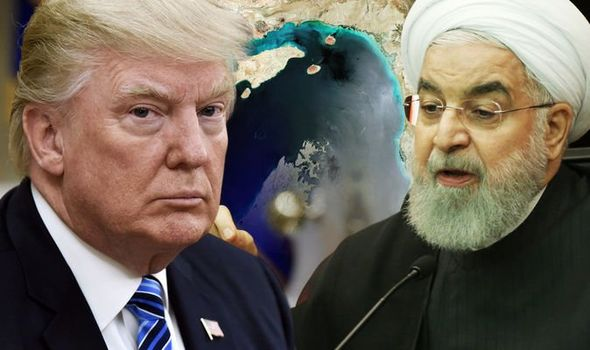 World war 3: Trump had previously warned that war with the US would be the 'end' of Iran