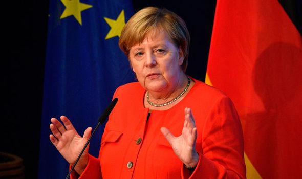 Bildergebnis für Angela Merkel Calls for a European Union Military