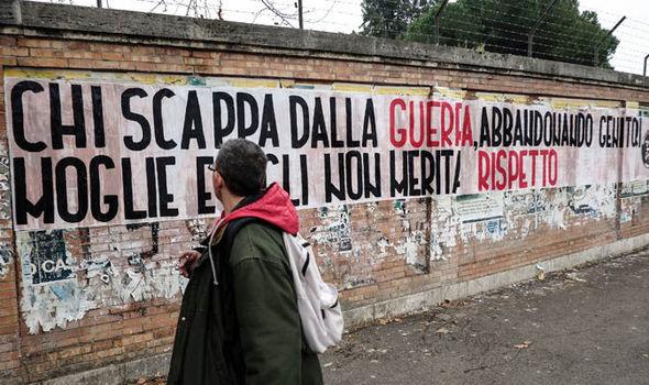 anti-migrant poster