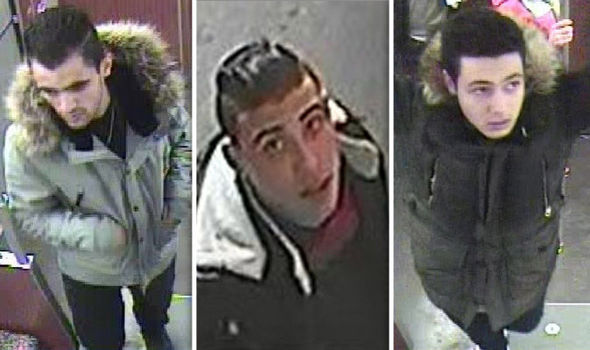 Berlin Police want to speak to these men