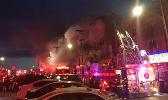 Image result for Bronx, NY on fire again
